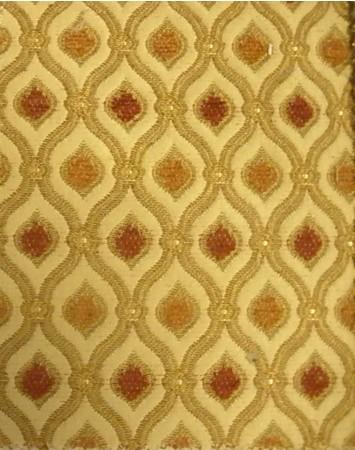 Gold Pillar Fabric