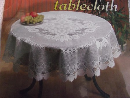 558 European Lace Tablecloth