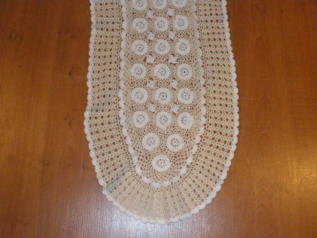 Handmade Crochet table runners