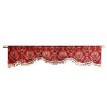 Red Garnette Window Treatment