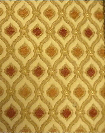 Gold Pillar Fabric