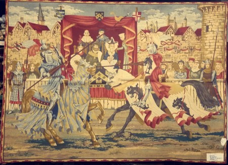 Medieval Tapestry Wall Hanging