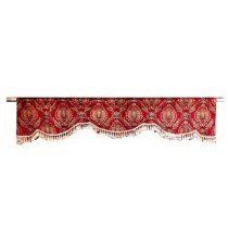 Red Garnette Window Treatment
