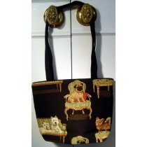 MEDIUM BLACK COLOR HANDBAG