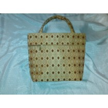 LARGE GOLD COLOR HANDBAG