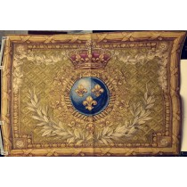 Fleur De Lys French Tapestry Wall Hanging